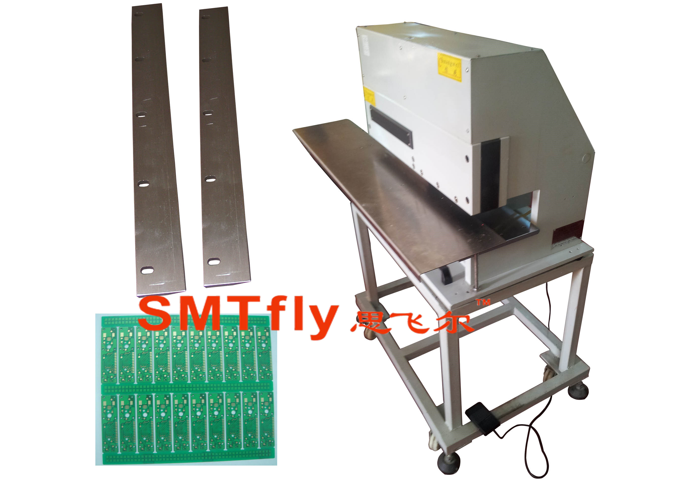 Manul Pcb Depaneling China Automatic V Cut Singulation Machine For Printed Circuit Cutting Toolsmtfly 3