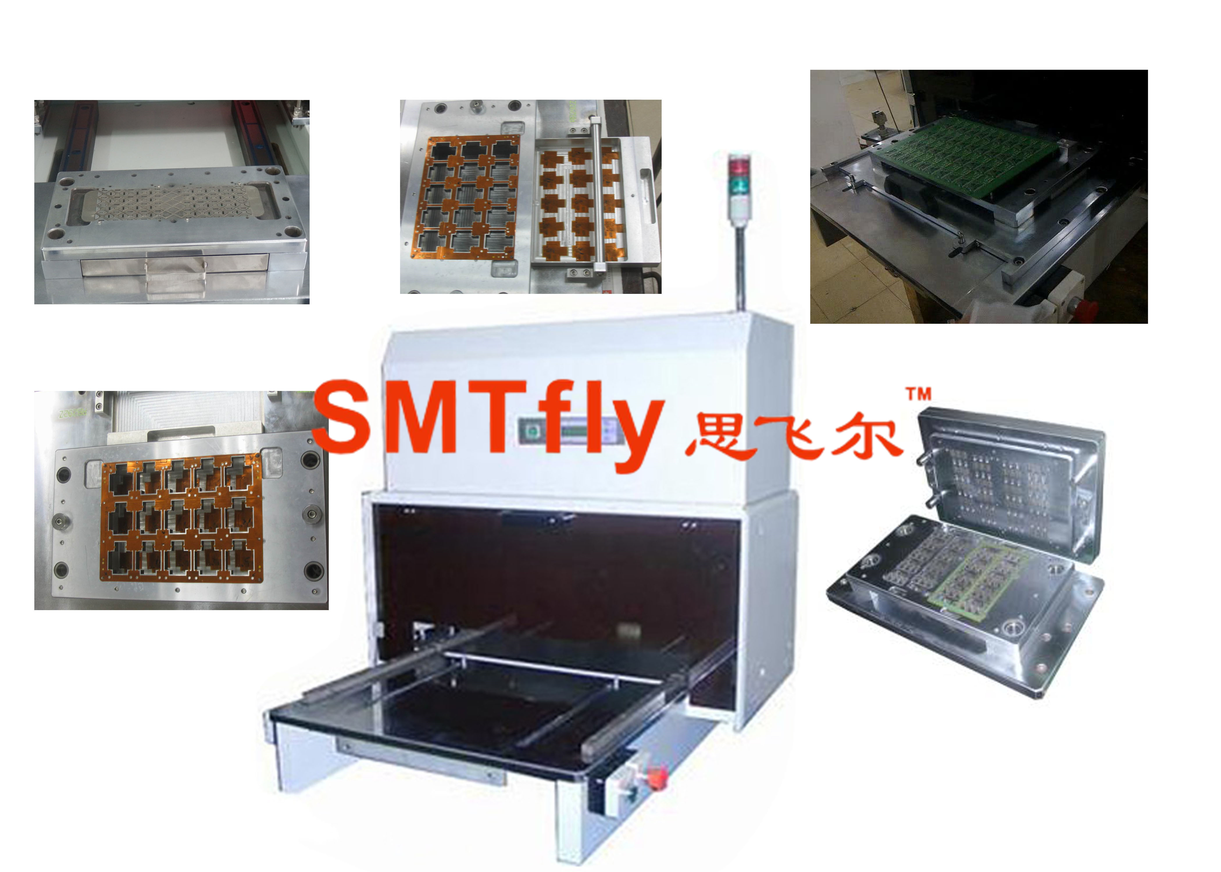 Pcb Punching Moldsmtfly Pl China Automatic V Cut Singulation Machine For Printed Circuit